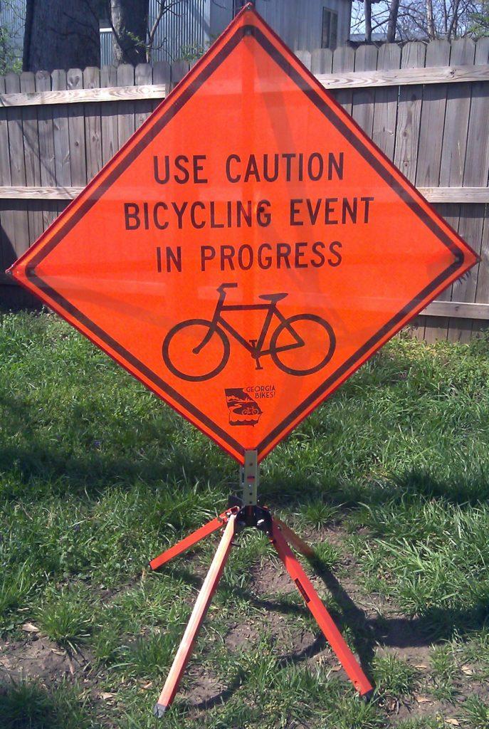 Bike Safety Sign